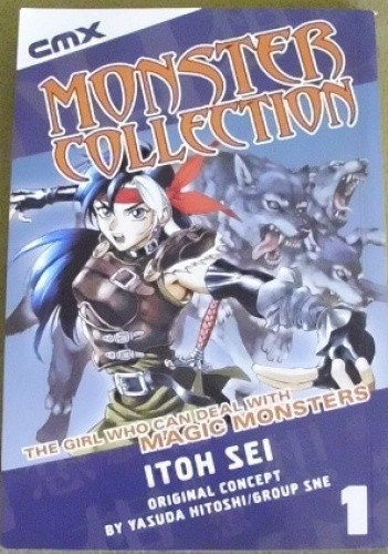 Okładka książki Monster Collection; the Girl who can deal with Magic Monsters, vol 1