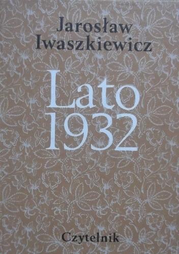 Okładka książki Lato 1932