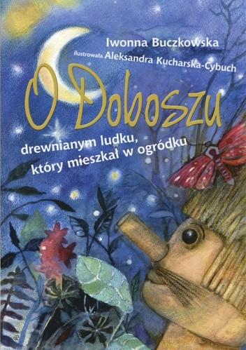 Okładka książki O Doboszu drewnianym ludku, który mieszkał w ogródku