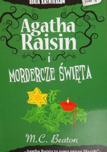 Okładka książki Agatha Raisin i mordercze święta