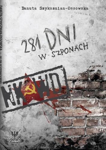 Okładka książki 281 dni w szponach NKWD
