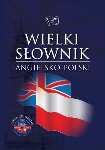 Okładka książki Wielki słownik angielsko - polski