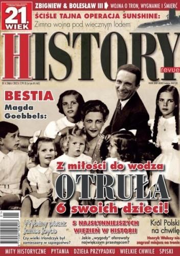 Okładka książki 21. Wiek History Revue nr 01/2012 r.