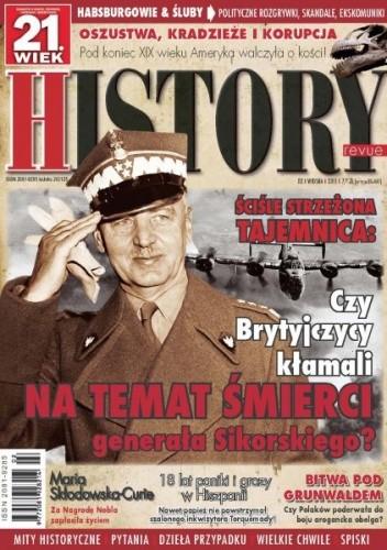 Okładka książki 21.Wiek History Revue nr 02/2011 r.