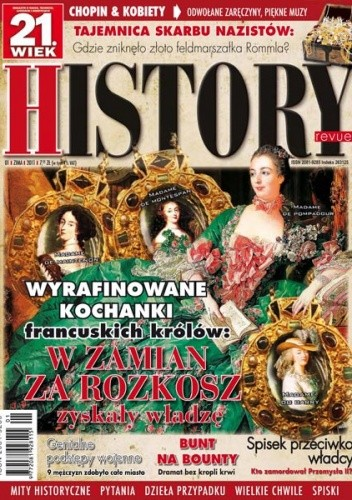 Okładka książki 21.Wiek History Revue nr 01/2011 r.