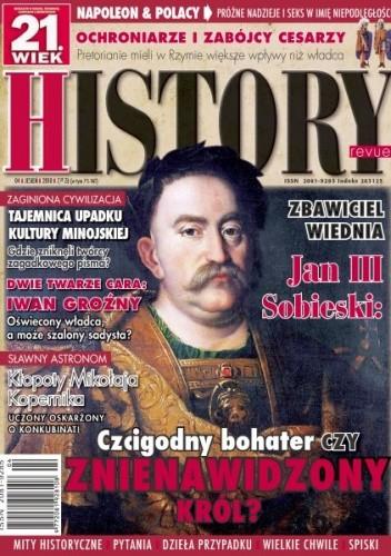Okładka książki 21.Wiek History Revue nr 01/201o r.
