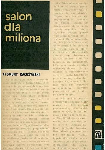 Okładka książki Salon dla miliona