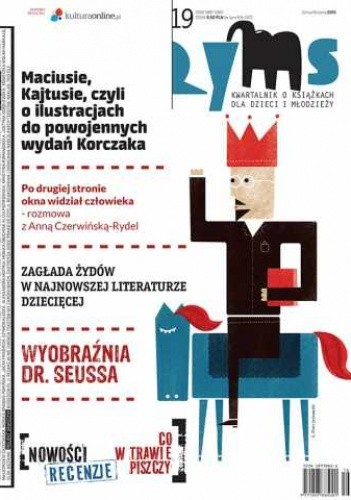 Okładka książki Ryms nr 19, zima / wiosna 2013