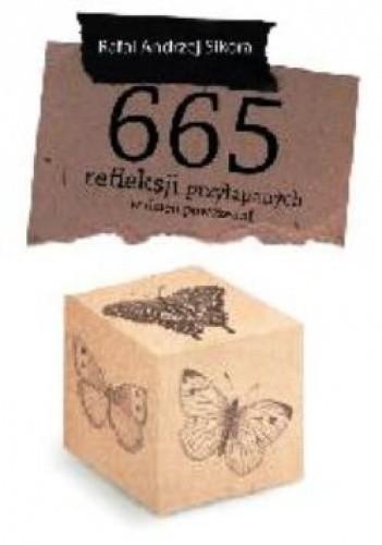 Okładka książki 665 refleksji przyłapanych w dzień powszedni.