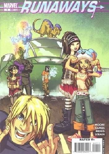 Okładka książki Runaways Vol 3 #1