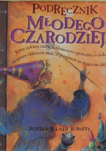 Okładka książki Podręcznik młodego czarodzieja