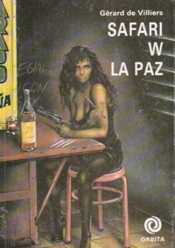 Okładka książki Safari w La Paz