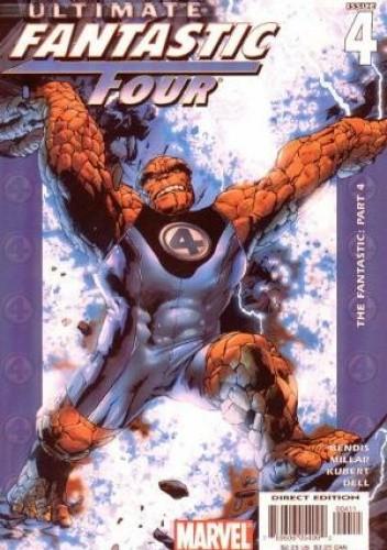 Okładka książki Ultimate Fantastic Four #4