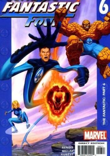Okładka książki Ultimate Fantastic Four #6