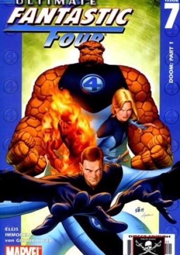Okładka książki Ultimate Fantastic Four #7