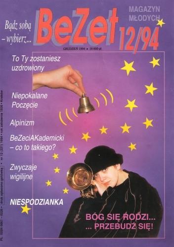 Okładka książki BeZet Magazyn Młodych 12/94