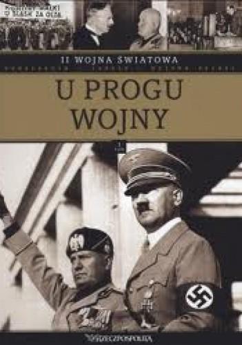 Okładka książki II wojna światowa. U progu wojny