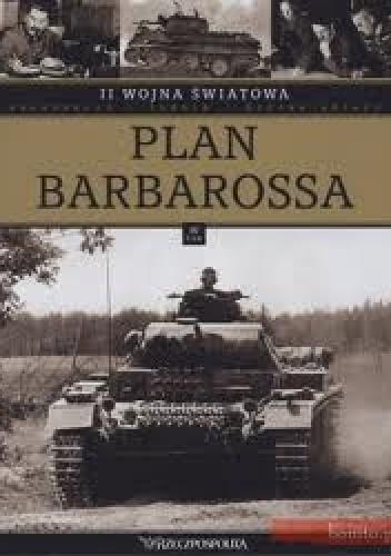 Okładka książki II wojna światowa. Plan barbarossa