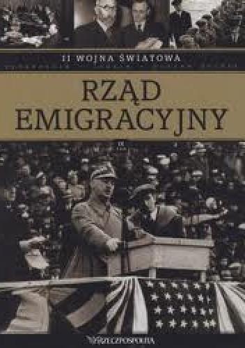 Okładka książki II wojna światowa. Rząd emigracyjny