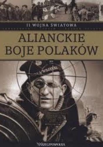Okładka książki II wojna światowa. Alianckie boje Polaków