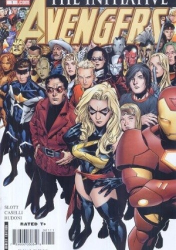Okładka książki Avengers: The Initiative #1