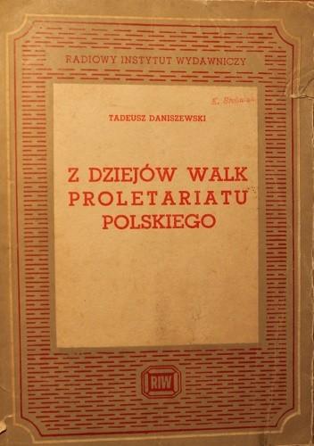 Okładka książki Z dziejów walk proletariatu polskiego
