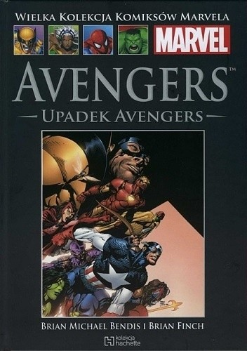 Okładka książki Avengers: Upadek Avengers