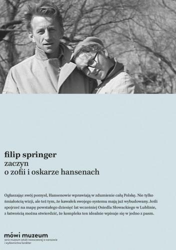 Okładka książki Zaczyn. O Zofii i Oskarze Hansenach