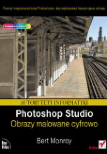 Okładka książki Photoshop Studio. Obrazy malowane cyfrowo