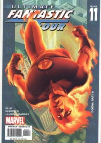 Okładka książki Ultimate Fantastic Four  #11