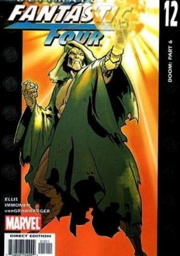 Okładka książki Ultimate Fantastic Four  #12