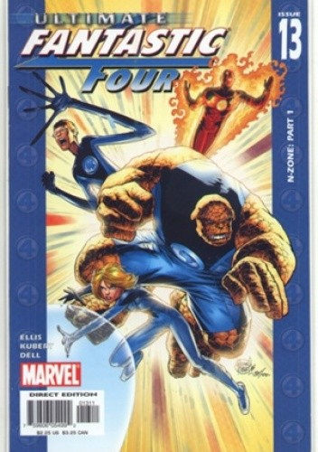 Okładka książki Ultimate Fantastic Four  #13