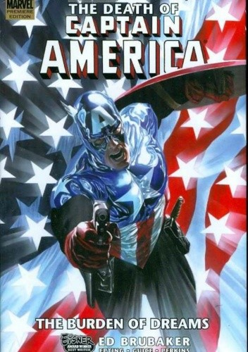 Okładka książki Captain America: The Death of Captain America, Vol. 2 - The Burden of Dreams