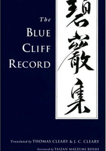 Okładka książki The Blue Cliff Record