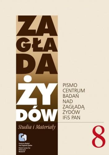 Okładka książki Zagłada Żydów. Studia i Materiały vol. 8 R. 2012