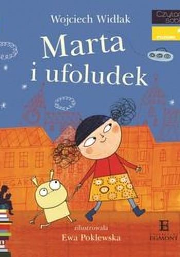 Okładka książki Marta i ufoludek