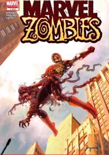 Okładka książki Marvel Zombies #1