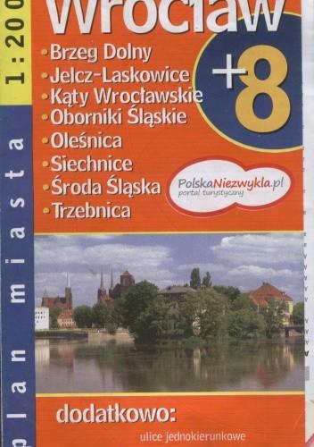 Okładka książki Wrocław + 8. Plan miasta