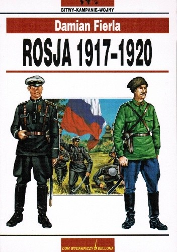 Okładka książki Rosja 1917 - 1920