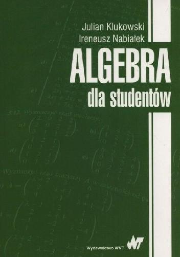 Okładka książki Algebra dla studentów