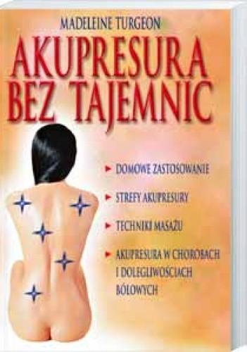 Okładka książki Akupresura bez tajemnic
