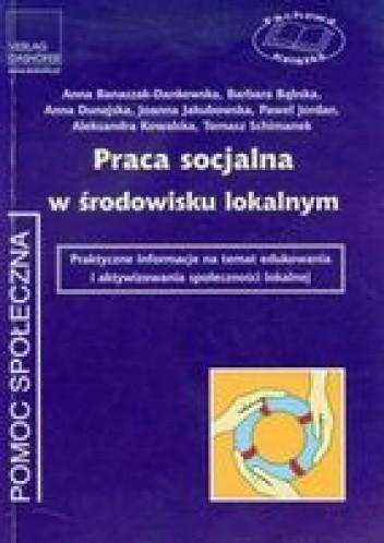 Okładka książki Praca socjalna w środowisku lokalnym