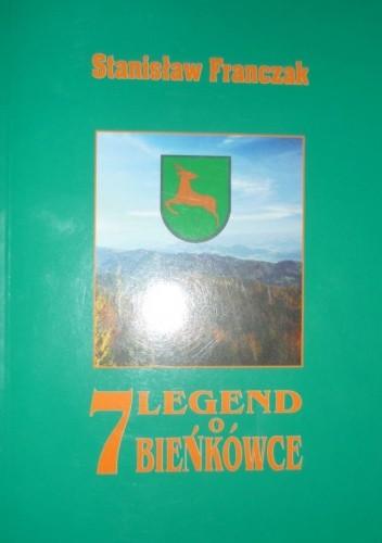 Okładka książki 7 Legend o Bieńkówce