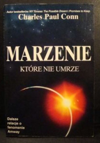 Okładka książki MARZENIE, KTÓRE NIE UMRZE