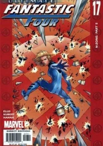 Okładka książki Ultimate Fantastic Four #17