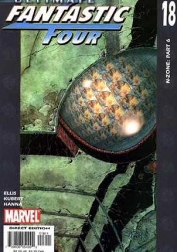 Okładka książki Ultimate Fantastic Four #18