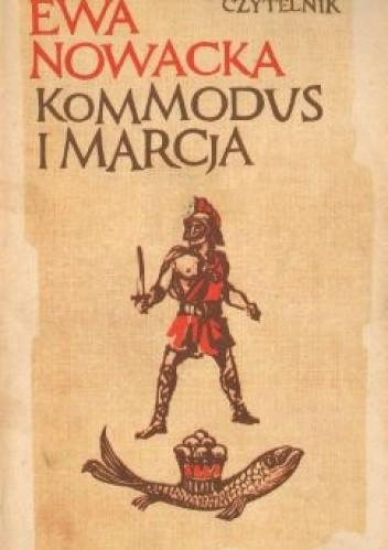 Okładka książki Kommodus i Marcja