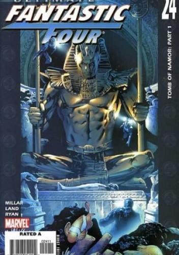 Okładka książki Ultimate Fantastic Four #24