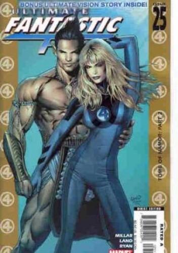 Okładka książki Ultimate Fantastic Four #25