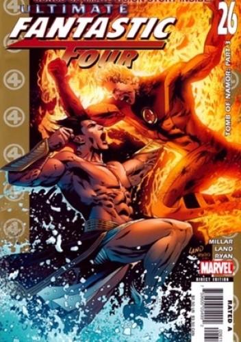 Okładka książki Ultimate Fantastic Four #26